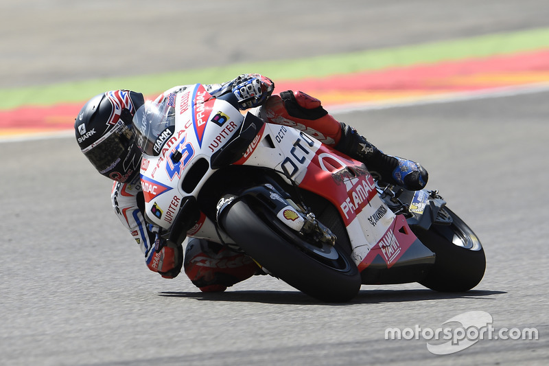 Scott Redding, Octo Pramac Racing, afterc crash