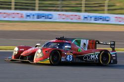 #43 RGR Sport by Morand Ligier JSP2 - Nissan: Ricardo González, Filipe Albuquerque, Bruno Senna