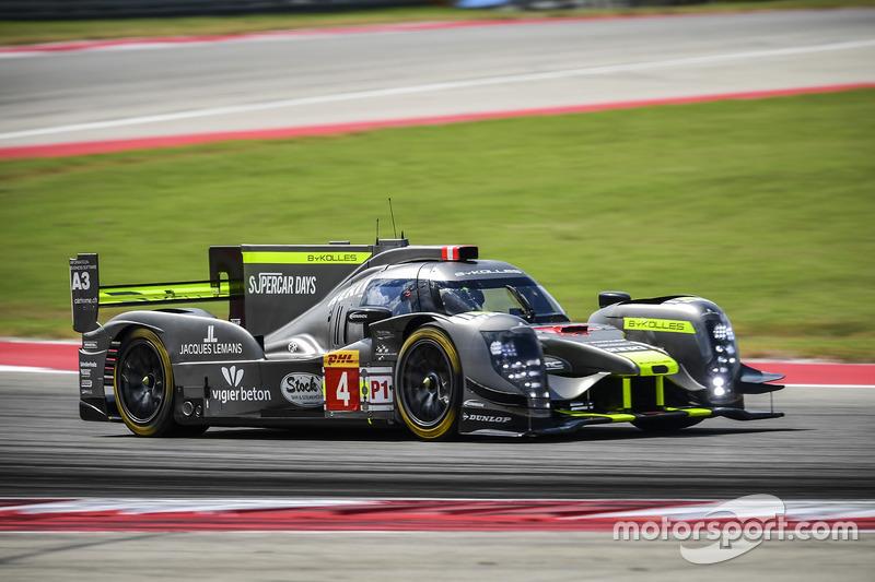 #4 ByKolles Racing CLM P1/01: Simon Trummer, Oliver Webb