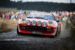 Historischer Rallye-Ferrari