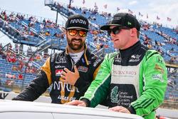 James Hinchcliffe, Schmidt Peterson Motorsports Honda, Conor Daly, Dale Coyne Racing Honda