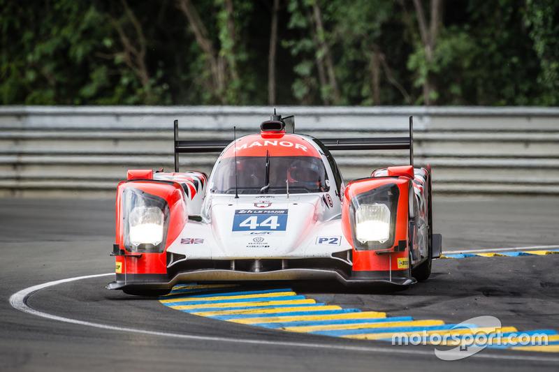 12: ORECA 05 Nissan команды Manor (#44): Тор Гривс, Мэтт Рао, Роберто Мери