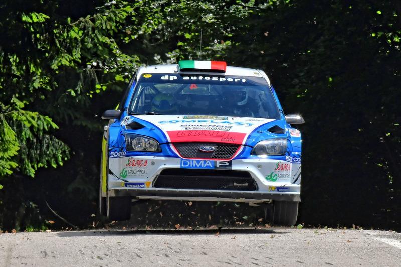 Marco Signor, Patrick Bernardi, Ford Focus WRC #4