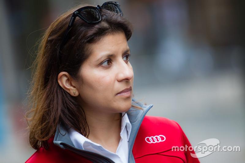 #7 Audi Sport Team Joest Audi R18: гоночний інженер Ліна Гейд