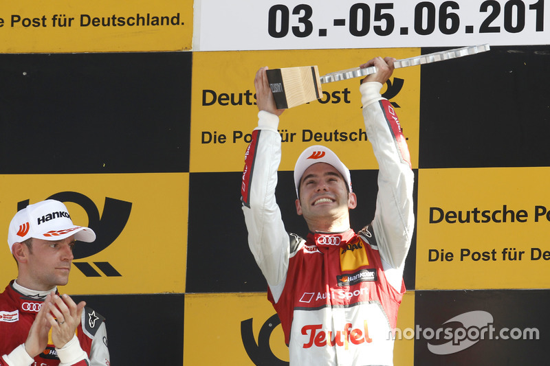 Miguel Molina en la primera manga de Lausitzring 2016