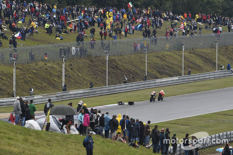 Cal Crutchlow, Team LCR Honda, Andrea Iannone, Ducati Team