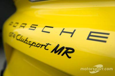 Presentación Porsche Cayman GT4 Clubsport Manthey Racing