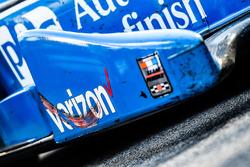 Car of race winner Simon Pagenaud, Team Penske Chevrolet