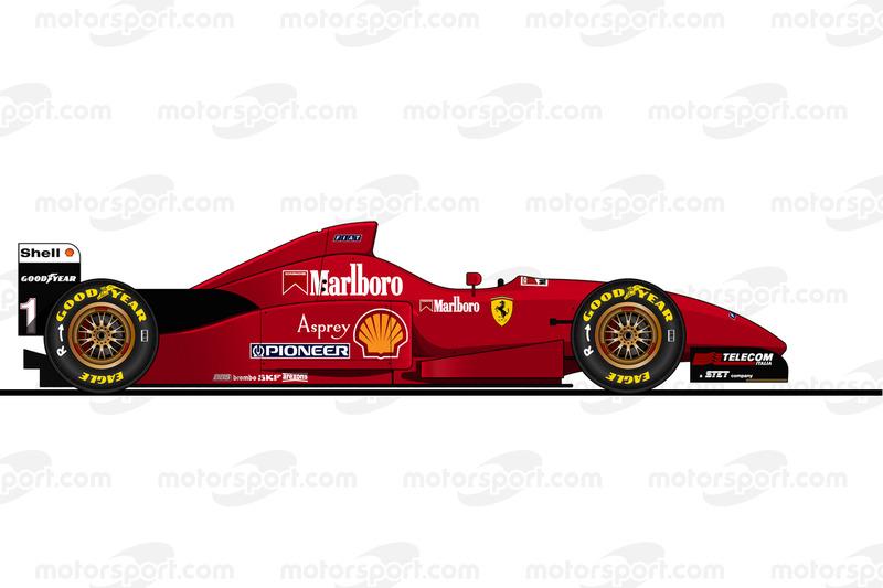 Michael Schumacher, Ferrari F310, 1996