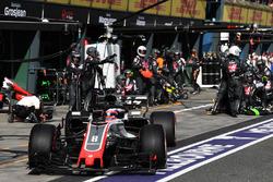 Пит-стоп: Ромен Грожан, Haas F1 Team VF-18