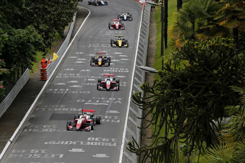 Guanyu Zhou, PREMA Theodore Racing Dallara F317 - Mercedes-Benz en tête