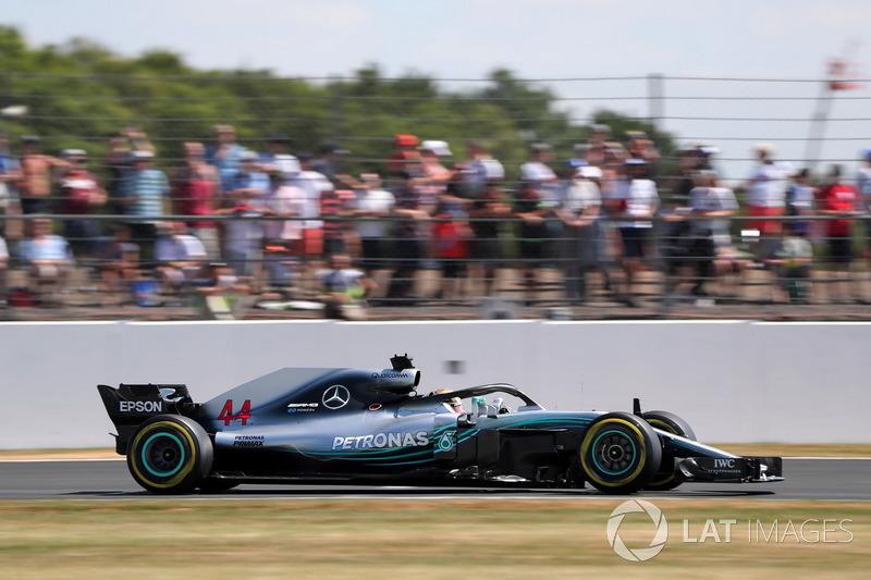 2º Lewis Hamilton, Mercedes AMG F1 W09 (601 vueltas)