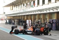 Oliver Turvey, McLaren MCL32 Honda