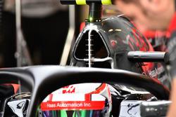 Haas F1 Team VF-17 aero sensors