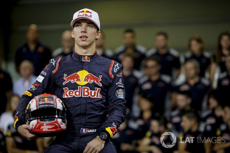 Toro Rosso, Pierre Gasly: 21 yaşında