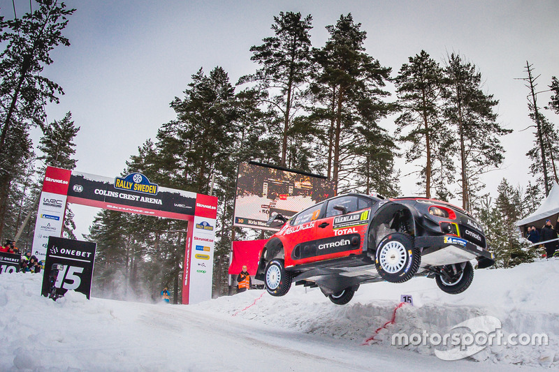 3. Kris Meeke, Paul Nagle, Citroën C3 WRC, Citroën World Rally Team