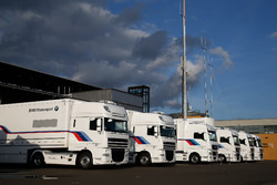 BMW Motorsport trailer