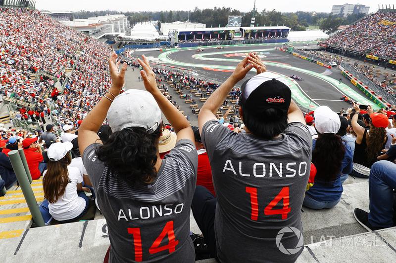 Fans de Alonso