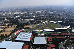 Aerial view of the track