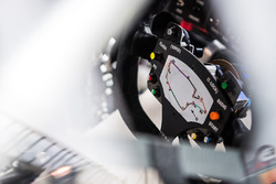 Steering wheel of Garth Tander, Garry Rogers Motorsport
