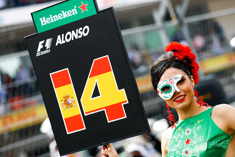 Chica de la parrilla, Fernando Alonso, McLaren