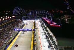 Renn-Action in Singapur