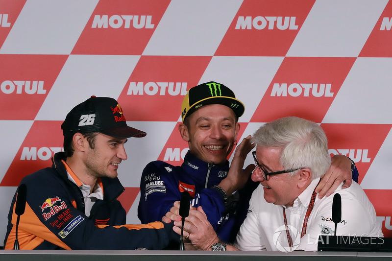 Dani Pedrosa, Repsol Honda Team, Valentino Rossi, Yamaha Factory Racing, Nick Harris
