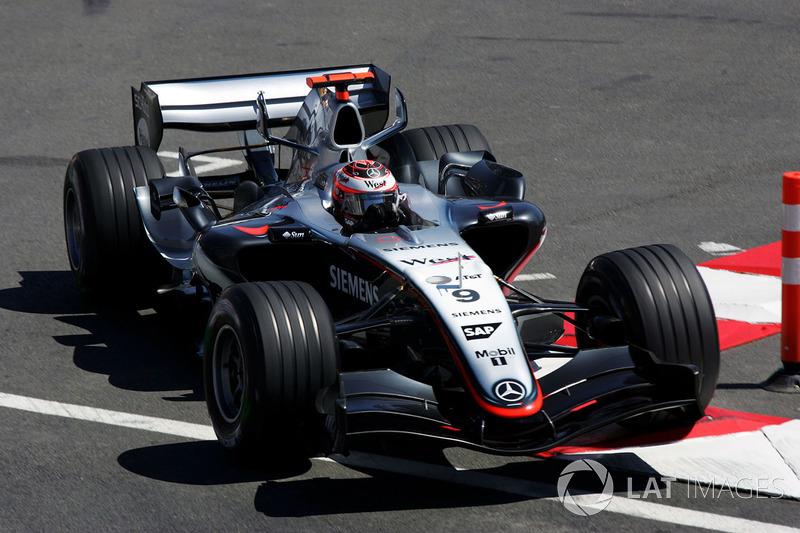 6. McLaren MP4/20 - 2005