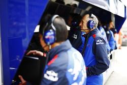 Franz Tost, Team Principal, Toro Rosso, al muretto box