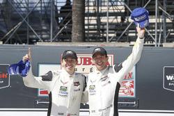 Podio GTLM: i vincitori Oliver Gavin, Tommy Milner, Corvette Racing
