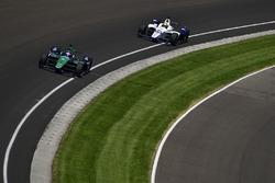 Jay Howard, Schmidt Peterson Motorsports / AFS Racing Honda, Zachary Claman De Melo, Dale Coyne Racing Honda