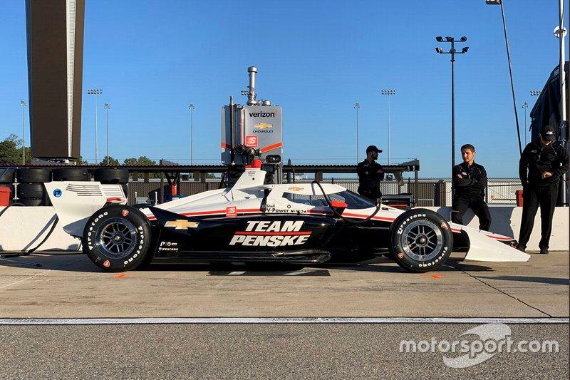 Penske Richmond testing