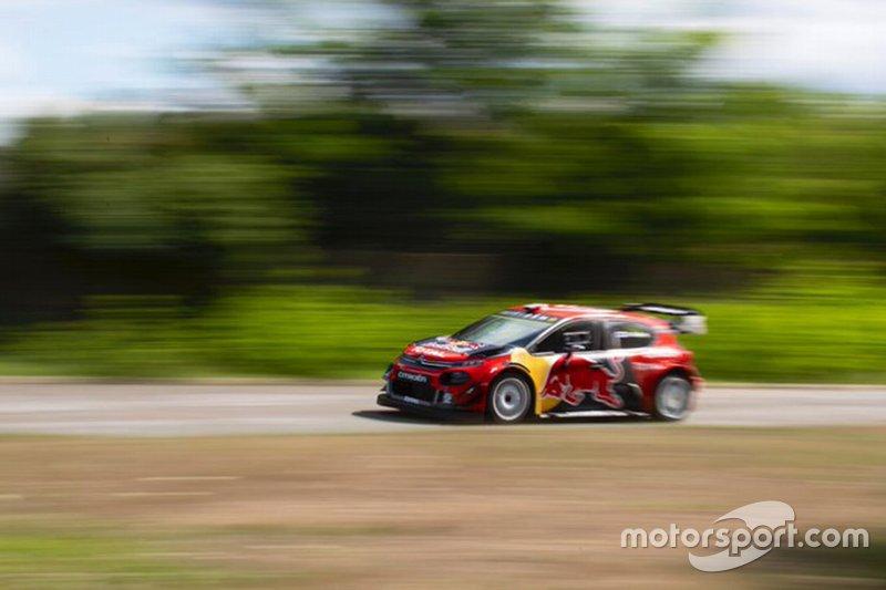 Prueba Bottas Citroen WRC