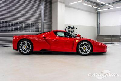 El Enzo Ferrari de Vettel, en venta