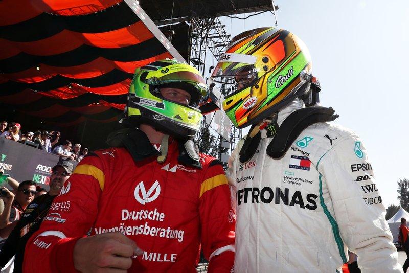 Mick Schumacher y Esteban Gutierrez