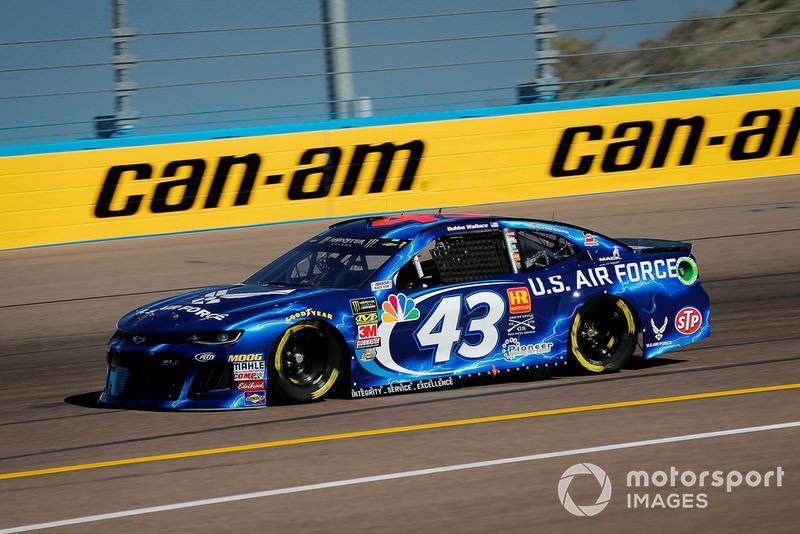 30. Darrell Wallace Jr., Richard Petty Motorsports, Chevrolet Camaro U.S. Air Force