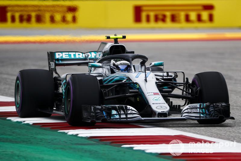 3 місце — Валттері Боттас, Mercedes — 278