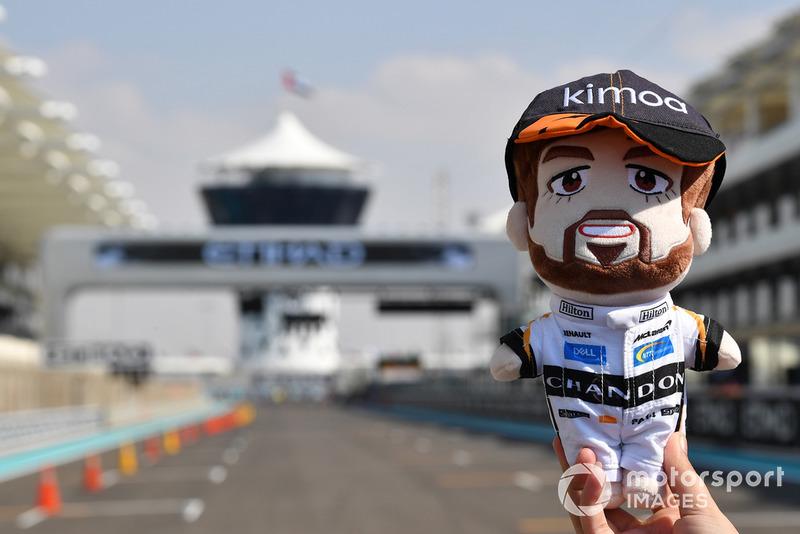 Une poupée Fernando Alonso, McLaren