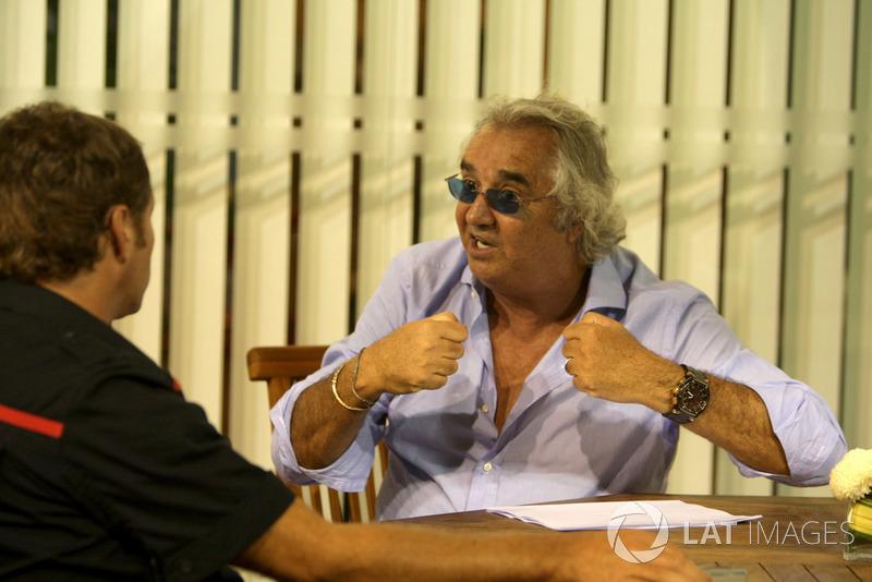 Flavio Briatore, director general de Renault F1