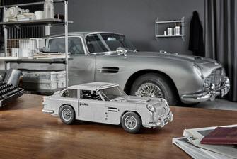 Aston Martin DB5 de James Bond en Lego