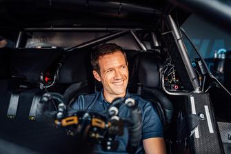 Sebastien Ogier en el Mercedes-AMG C 63 DTM