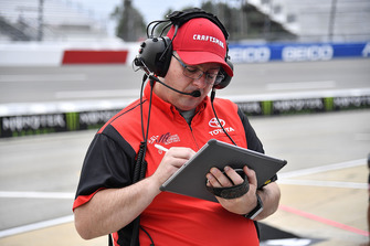 Ryan Preece, Joe Gibbs Racing, Toyota Camry Craftsman crew chief Eric Phillips