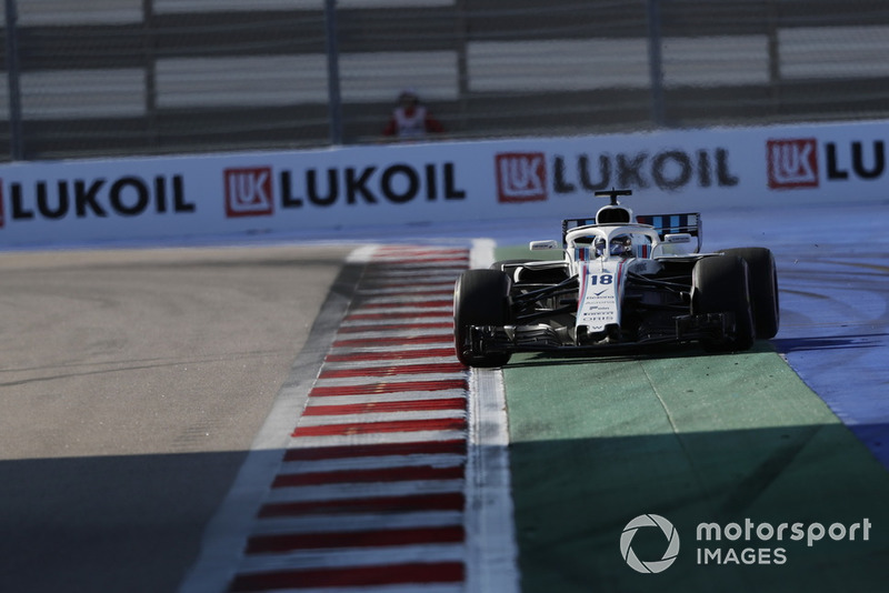 15: Lance Stroll, Williams FW41, 1'36.437