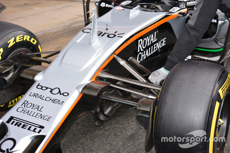 Detail, Sahara Force India F1 VJM09