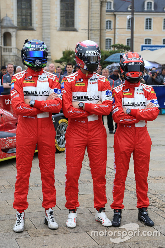 #13 Rebellion Racing Rebellion R-One AER: Матео Тушер, Александр Імператорі, Домінік Крайхамер