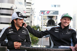 Серхіо Перес і Ніко Хюлькенберг, Sahara Force India F1