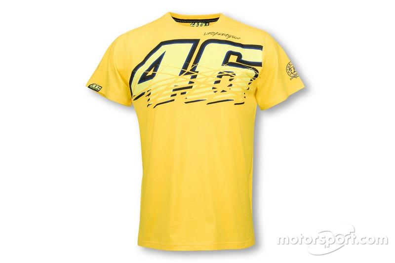 """T-shirt Valentino Rossi """"46"""" 2016 jaune"""