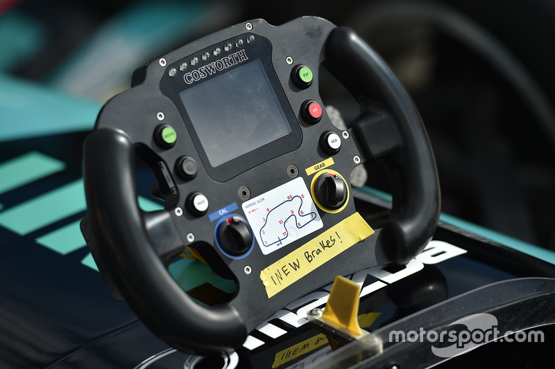 Cosworth Indy Lights steering wheel