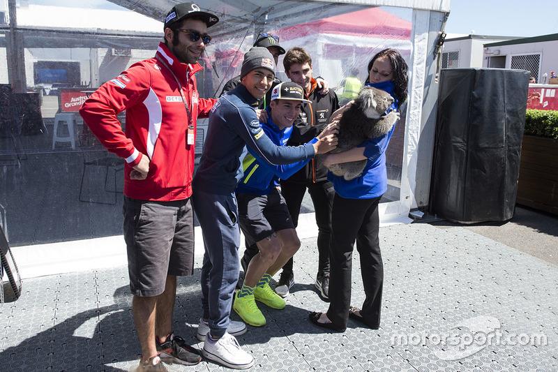 Danilo Petrucci, Pramac Racing, Pol Espargaro, Monster Yamaha Tech 3 with a Koala