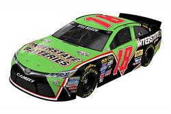 Throwback-Design von Kyle Busch, Joe Gibbs Racing, Toyota